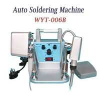 Free shipping! WYT-006B universal soldering machine / automatic soldering machine / Adjustable Temperature Setting welding
