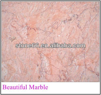 Pink marble countertops