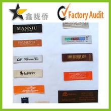 2015 professional custom woven label garments labels lahore