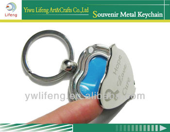 promotional heart keychain for female novelty items cut rings for lady original souvenir gadget valentine gift