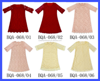 Most Popular Mom And Me Clothes Dress Half Sleeve Baby Girls Lace Dress