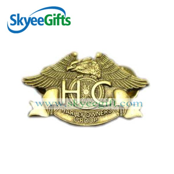 Factory Supply Custom Enamel Stainless Steel Lapel Pin