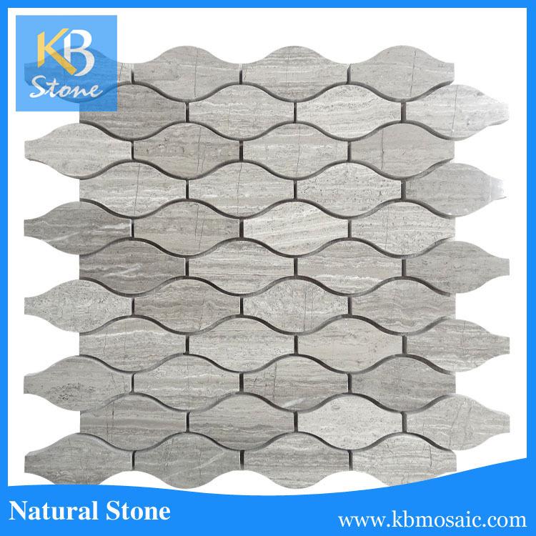 새로운 디자인 돌 벽 타일 석재 장식 바닥 모자이크 패턴 ...