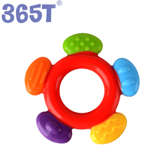 Wholesale Factory Manufacturer Food Grade Chew Bead Silicone Jewelry Baby Teething Necklace