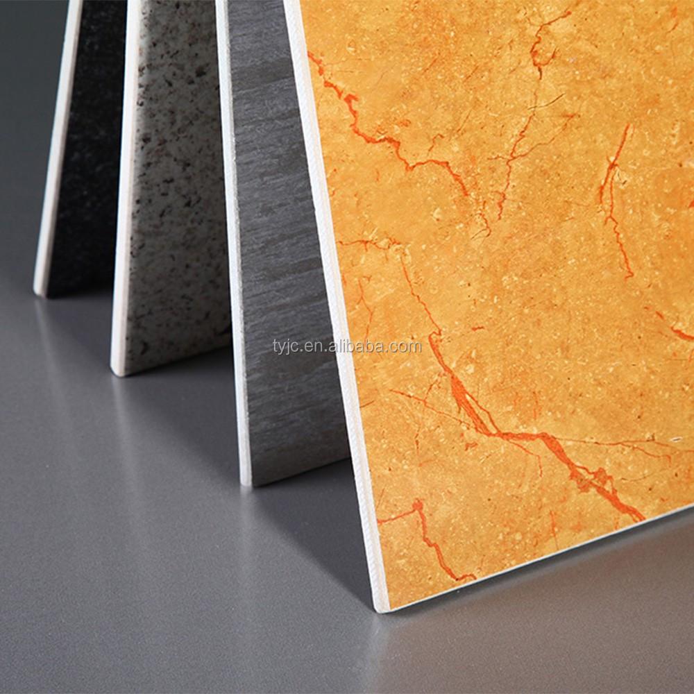 Marble Surface Uv Coating Decorative Wall Board Fiber Cement Board ...