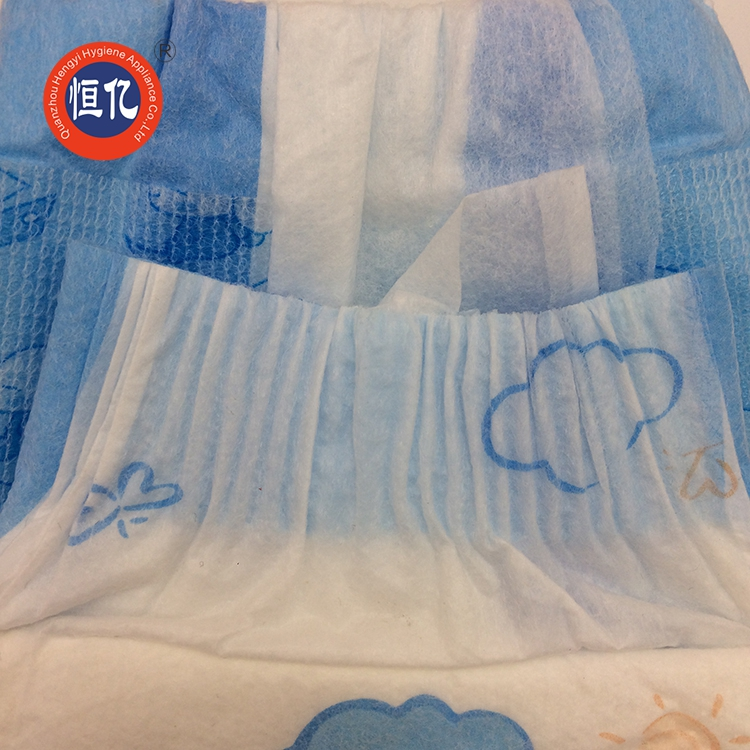 Magic Dry Cheap Disposable Baby Diaper And Nappy For Nigeria Market