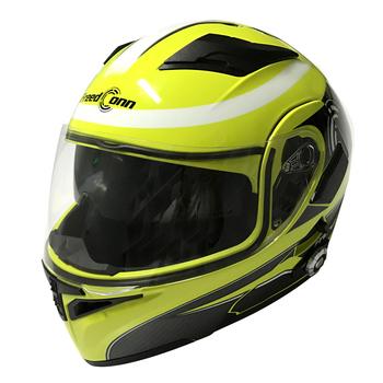 2017 Dot Standard Smart Bluetooth Motorcycle Helmet Built In Intercom Device Support 8 Riders Talking 500m