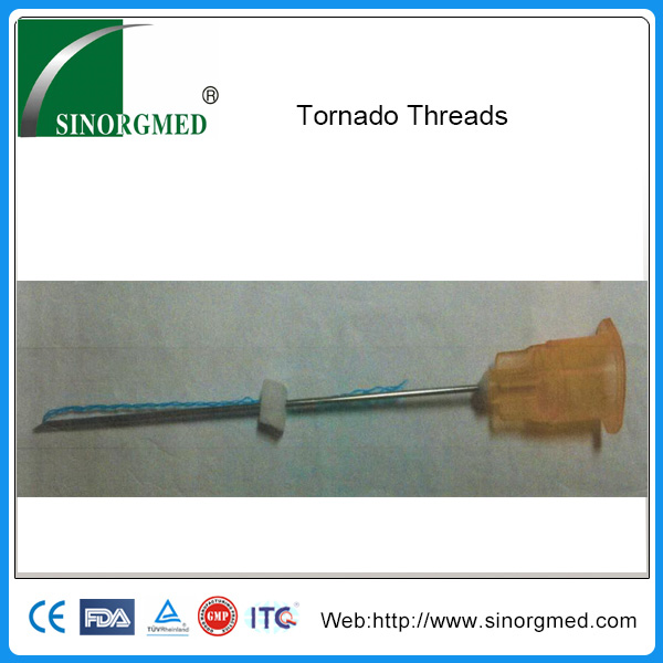 2017 Hot Sale Face Lift Tornado Screw Pdo Thread View Pdo