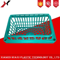 Wholesale high quality cheap price small plastic strawberry baskets/plastic gift baskets/plastic collapsible plastic basket