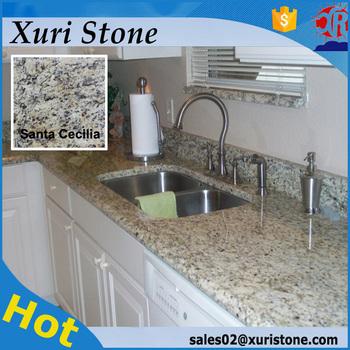 Home depot santa cecilia granito precio granite countertop for Granito santa cecilia