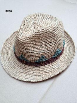 Fashion High Quality Raffia Crochet Cowboy Hats For Part Buy