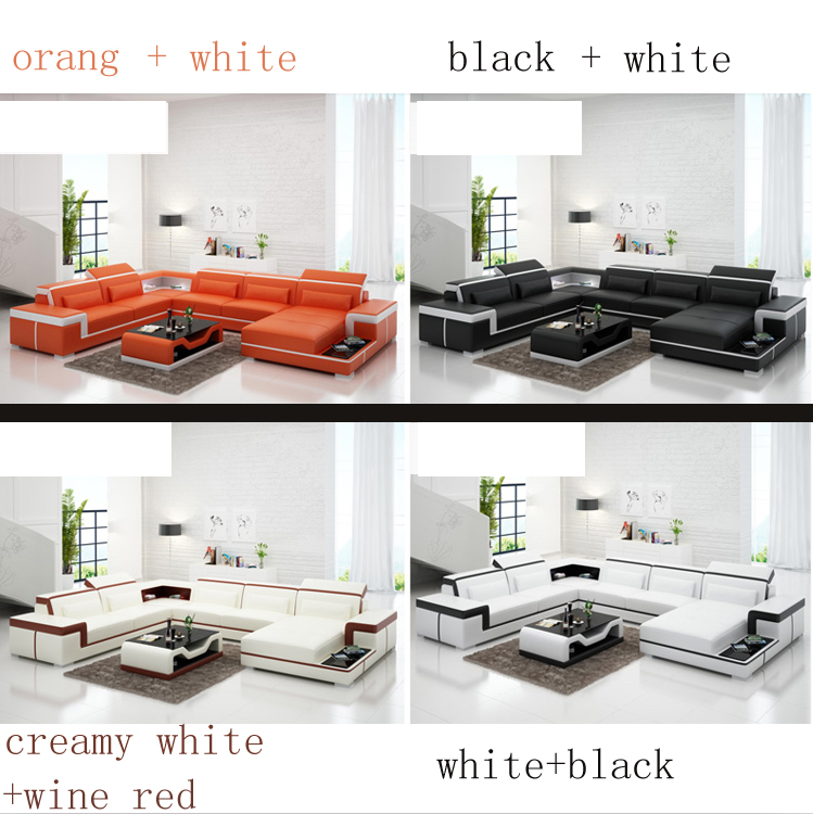 American Style Fashion Sofa Set Living Room 7 Seat Solid Wood leather sofa set/Contemporary sofa sets/design furniture