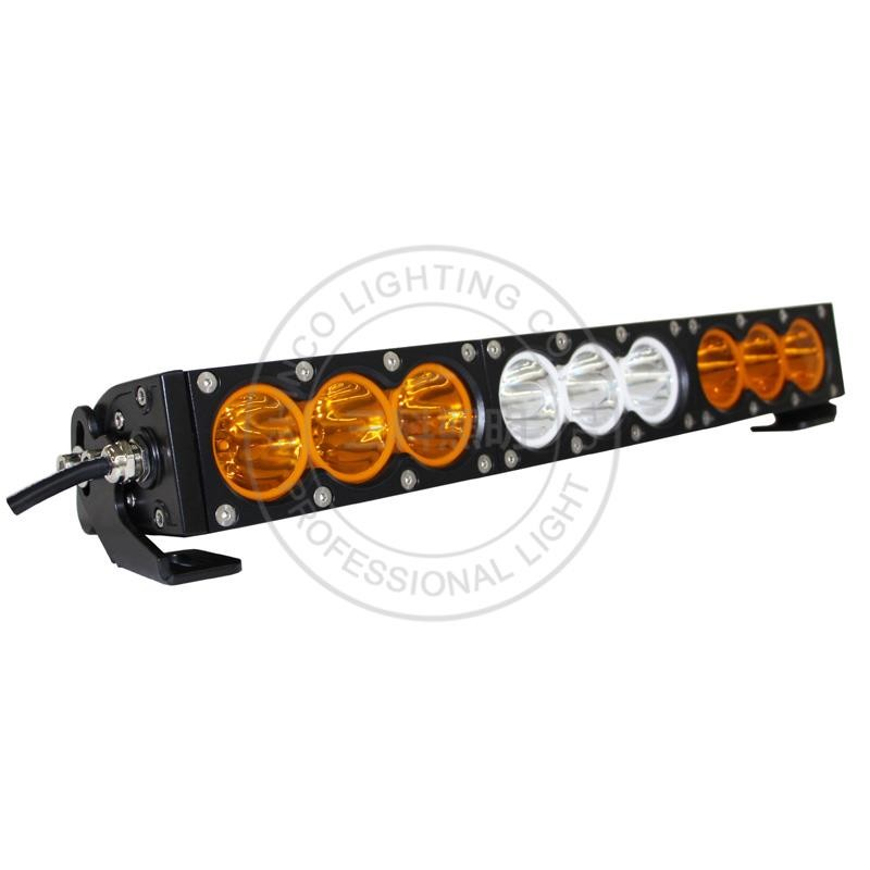 90w white amber led light bar single row led light bar yellow white 90w white amber led light bar single row led light bar yellow white dual colors mozeypictures Image collections