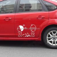 China custom car body sticker , car transfer sticker for car with your own design