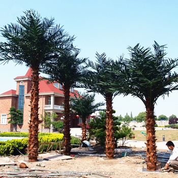 Excellent Quality Artificial Fake Outdoor Decorative Metal Palm