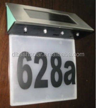 Illuminated Solar House Number, Illuminated Solar House Number Suppliers  And Manufacturers At Alibaba.com