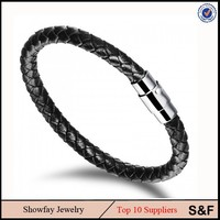 361 Leather Bracelet For Men 316l Stainless Steel Bracelet Products