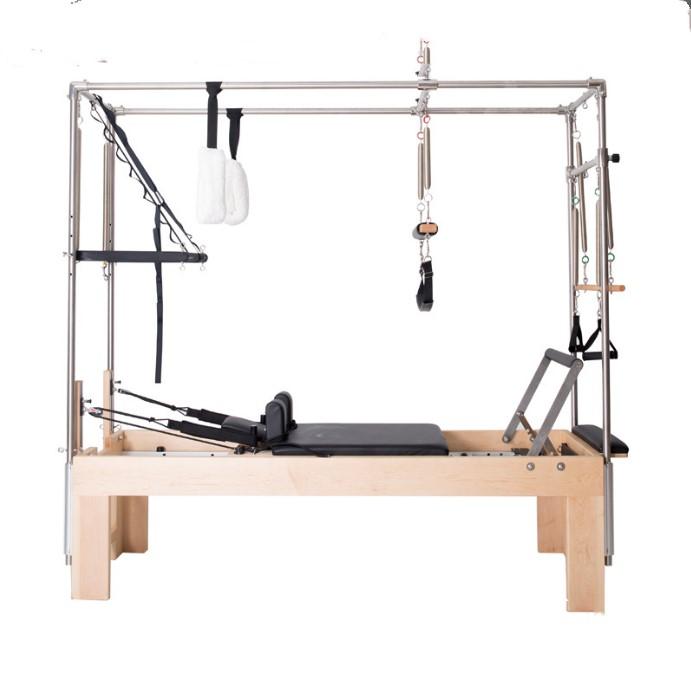 Hot sales Home Wooden Body Balanced Pilates reformer equipment fitness equipment pilates cadillac reformer