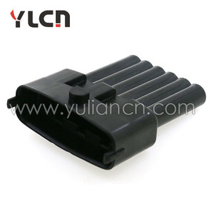 6 pin pa66 male female water proof retangular connector