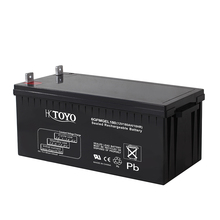 ESG HOT 12V200AH lead acid battery