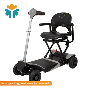 CE Certificate 24V / 12AH Lightweight Handicapped Powered Mobility Scooter