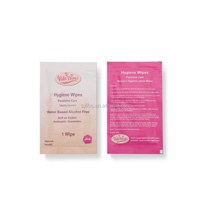 disposable intimate hygiene wipes Genital Feminine cleaning wet wipes