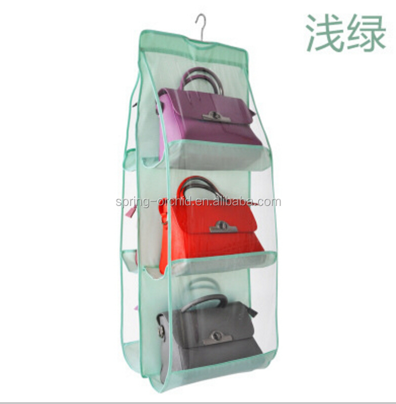 Over the Door Hanging Storage Bag Storage Organizer