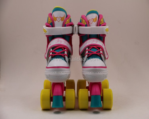 High quality roller skates 4 wheels shoes traditional canvas artistic skates