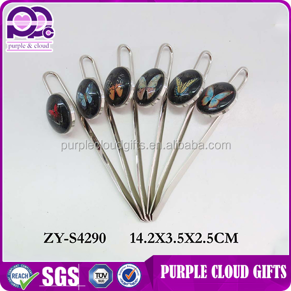 Lowest price Popular wholesale promotional butterfly bookmark pen