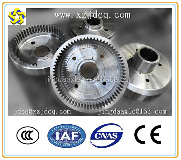 internal inner Ring gears of MERITOR Axle for road roller XS142J XS143J XS152J XS163J