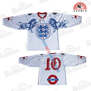 100% polyester ice hockey jersey cheap team hockey jersey custom ice hockey  jerseys 85569d6c9