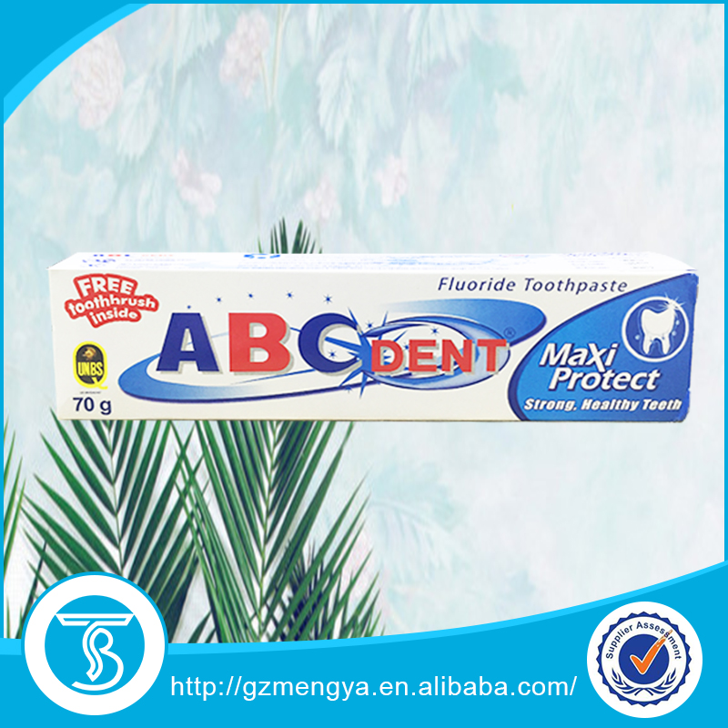 Abc Dent Toothpaste Whitening Cleasing Pasta De Dientes