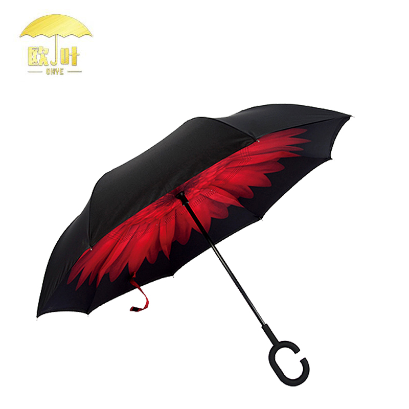 Hot Selling Machine Grade Waterproof Fabric Large Rain UV Umbrella