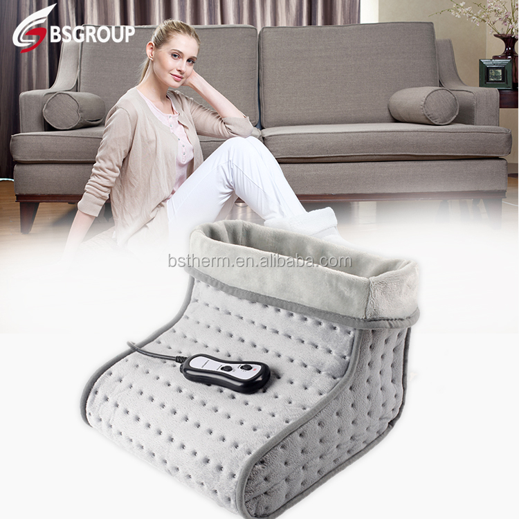 New product hot sale thermal 220v electric massager foot warmer boot