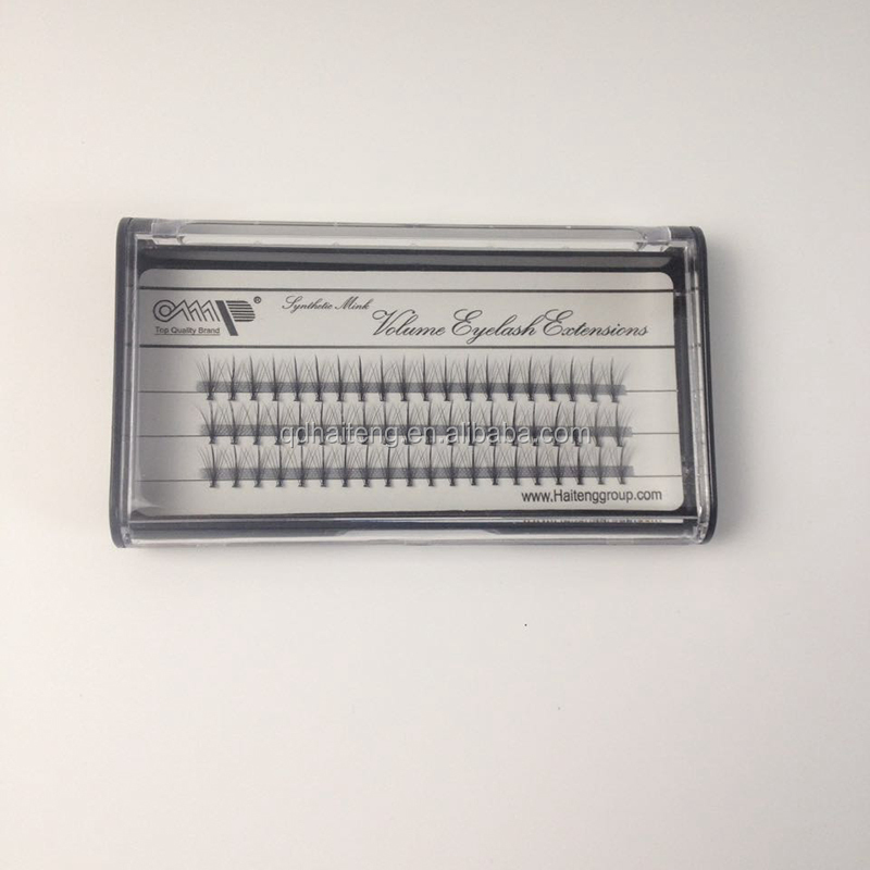 Best-selling Europe and the United States and beauty beauty makeup protein fiber grafting eyelash single cluster F002