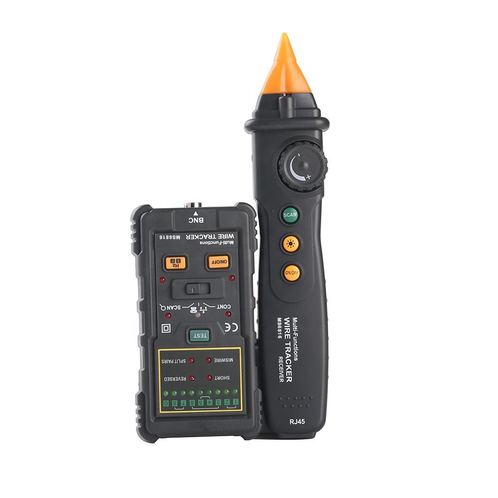 มัลติฟังก์ชั่เครื่องทดสอบสายเคเบิลเครือข่าย PM6816,REMOTE RJ45 RJ11 LAN สายเคเบิลเครือข่าย PM6816