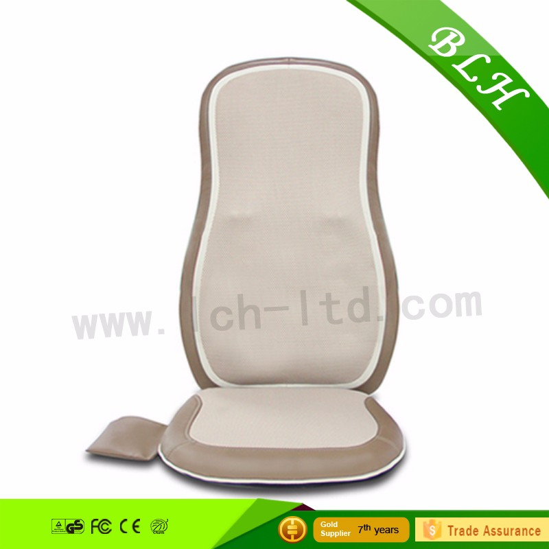 2016 NEW Arrival Heated Electric Back Massage Seat Cushion Car Seat Chair Massager relieve fatigue cushion