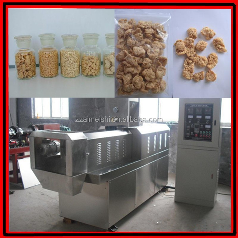 Large output textured mung bean chunk machine protein bar machine