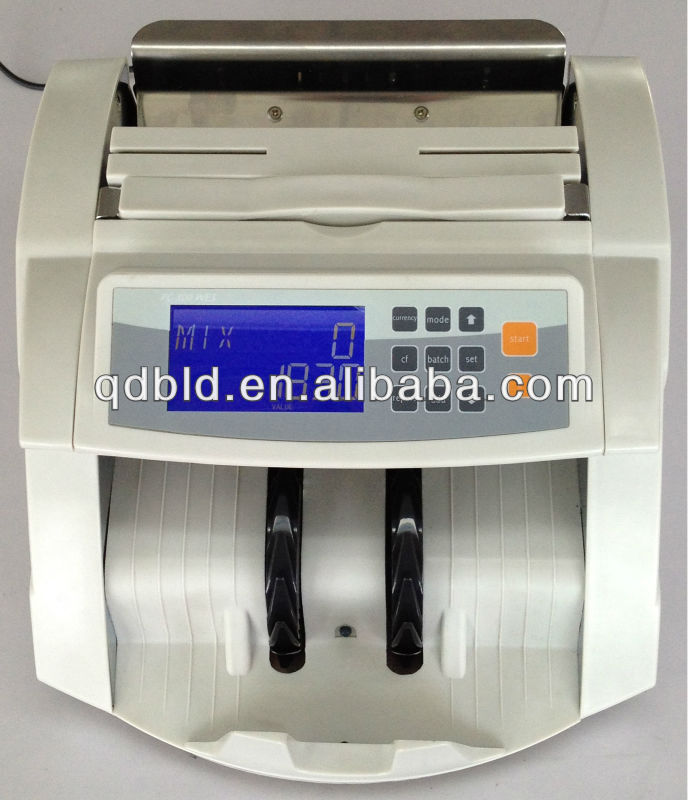 Multi Currency Mix denominations Value Counter / Note Counting Machine/ Banknote Counter