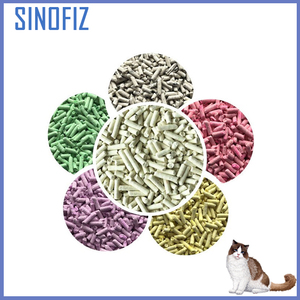 Innovative pet grooming products clumping economical environment friendly super fine tofu cat litter