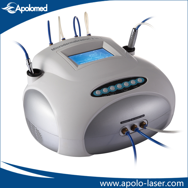 2 in 1 crystal and diamond peeling dermabrasion machine