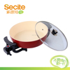 34Y Secite Red Ceramic Coating Non-stick Electric Pizza Pan