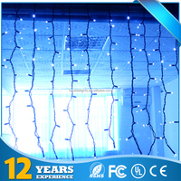 Christmas outdoor decoration good quality led curtain lights