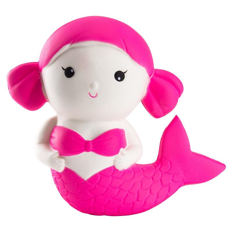 super slow high quality squishy mermaid soft animal squishy in stock