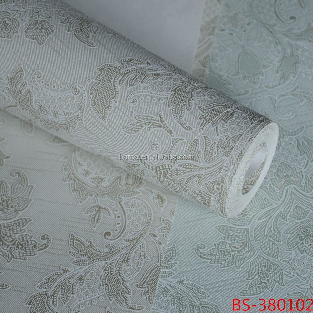 Function and Household Usage wallpaper non woven wall coverings with crystal