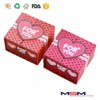 Wholesale two doors beautiful heart design paper wedding box