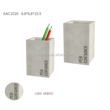 fancy office supplies. Luxury Office Supplies Fancy Concrete Custom Plain Cement Pencil Holder