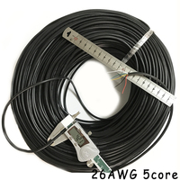 26AWG 5core UL2464 wire for data processing system