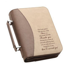 Boshiho Bible Cover with Zipper Book Cover