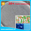 Hollow glass microspheres for decorative bubble glass panels